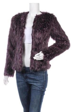 Дамско палто Biba, Размер S, Цвят Лилав, Акрил, Цена 49,98лв.