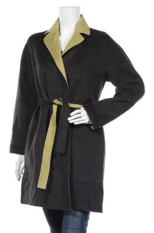 Дамско палто Cacharel, Размер S, Цвят Зелен, 90% вълна, 10% памук, Цена 245,70лв.
