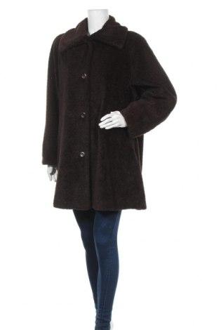Дамско палто Danwear, Размер M, Цвят Кафяв, Акрил, Цена 22,68лв.