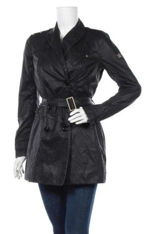 Дамско палто Dek'her, Размер S, Цвят Черен, 60% полиестер, 40% памук, Цена 36,86лв.