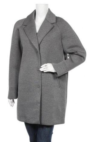 Дамско палто Fuchs & Schmitt, Размер L, Цвят Сив, 95% вискоза, 5% еластан, Цена 22,26лв.