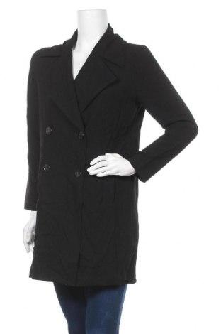 Дамско палто Gina Tricot, Размер S, Цвят Черен, Полиестер, Цена 11,81лв.