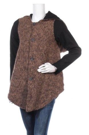 Дамско палто Gioffrè, Размер S, Цвят Черен, 60% вълна, 30% вискоза, 10% други тъкани, Цена 22,31лв.