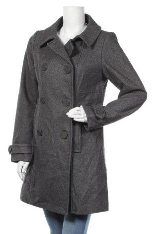 Дамско палто H&M, Размер M, Цвят Сив, Цена 27,41лв.