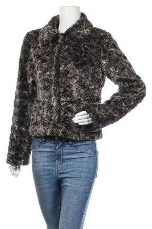 Дамско палто Ichi, Размер M, Цвят Черен, 73% акрил, 27% полиестер, Цена 48,04лв.