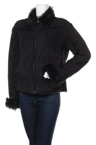 Дамско палто Imperial, Размер L, Цвят Черен, 55% акрил, 45% полиестер, Цена 9,45лв.