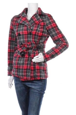 Дамско палто Jou Jou, Размер M, Цвят Многоцветен, Полиестер, Цена 11,55лв.