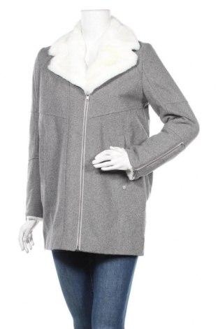 Дамско палто Kaporal, Размер S, Цвят Сив, 50% вълна, 50% полиестер, Цена 72,27лв.