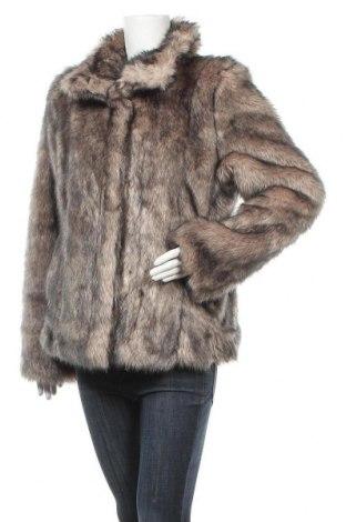 Дамско палто KappAhl, Размер M, Цвят Бежов, 85% акрил, 15% полиестер, Цена 38,22лв.