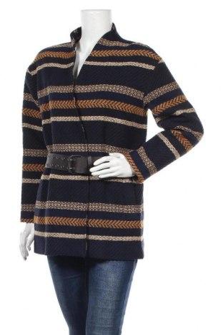 Дамско палто La Petite Francaise, Размер L, Цвят Многоцветен, 3% други тъкани, 35% полиестер, 29% памук, 22% акрил, 10% вълна, 1% еластан, Цена 126,75лв.