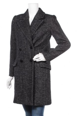 Дамско палто La Petite Francaise, Размер M, Цвят Сив, 61% вълна, 31% памук, 8% полиестер, Цена 129,00лв.