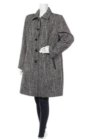 Дамско палто Laura T., Размер M, Цвят Сив, 85% полиестер, 6% акрил, 5% вълна, 4% вискоза, Цена 40,27лв.