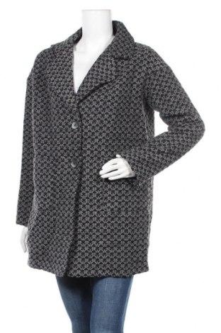 Дамско палто Lauren Vidal, Размер S, Цвят Черен, 50% полиестер, 26% акрил, 12% полиамид, 10% вълна, 1% други нишки, Цена 111,60лв.