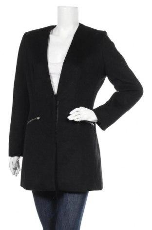 Дамско палто M By Mosquitos, Размер M, Цвят Черен, 50% вълна, 38% полиестер, 12% други тъкани, Цена 56,70лв.
