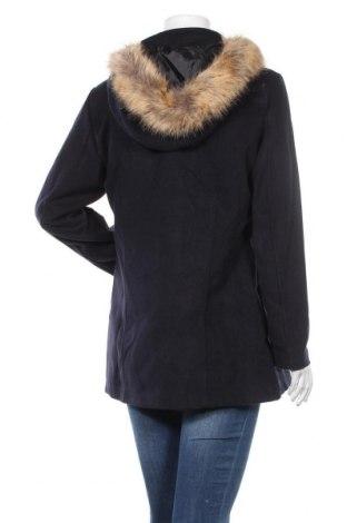 Дамско палто Made In Italy, Размер XXL, Цвят Син, 70% полиестер, 30% вискоза, Цена 32,67лв.