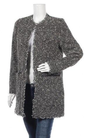 Дамско палто Mango, Размер L, Цвят Черен, 54% полиестер, 38% памук, 4% полиамид, 4% акрил, Цена 64,07лв.