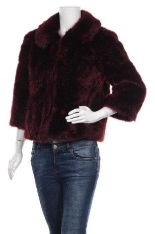 Дамско палто Monsoon, Размер S, Цвят Червен, Акрил, Цена 32,34лв.