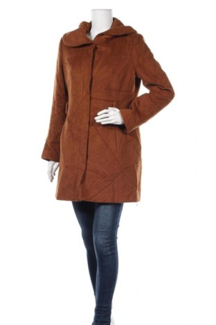 Дамско палто More & More, Размер M, Цвят Кафяв, 70% вълна, 30% вискоза, Цена 31,40лв.