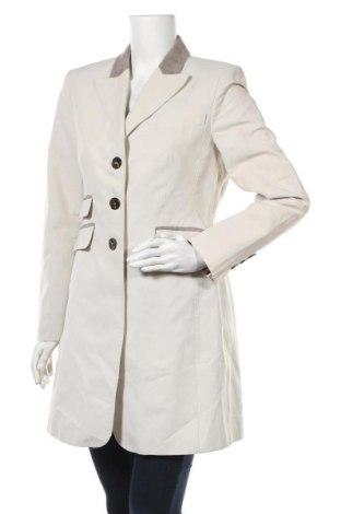 Дамско палто NVSCO, Размер L, Цвят Екрю, 72% памук, 28% полиамид, Цена 21,53лв.