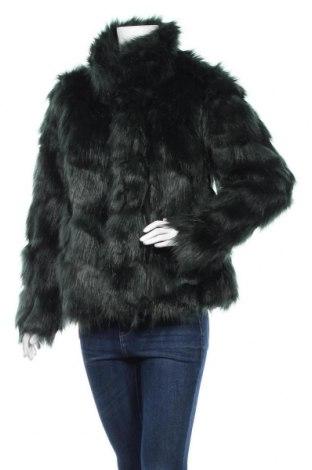 Дамско палто Nly Trend, Размер S, Цвят Зелен, 85% акрил, 15% полиестер, Цена 66,36лв.
