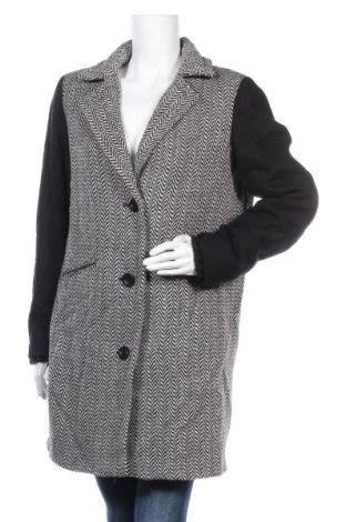 Γυναικείο παλτό Noa Noa, Μέγεθος L, Χρώμα Μαύρο, 50% μαλλί, 50%ακρυλικό, Τιμή 42,54€