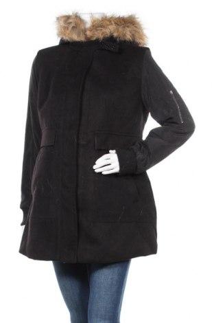 Дамско палто Noppies, Размер S, Цвят Черен, 88% полиестер, 10% вискоза, 2% еластан, Цена 71,82лв.