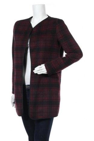 Дамско палто ONLY, Размер M, Цвят Червен, 60% полиестер, 40% вълна, Цена 11,03лв.