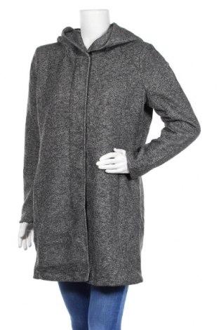 Дамско палто ONLY, Размер XL, Цвят Сив, 85% полиестер, 15% памук, Цена 42,84лв.