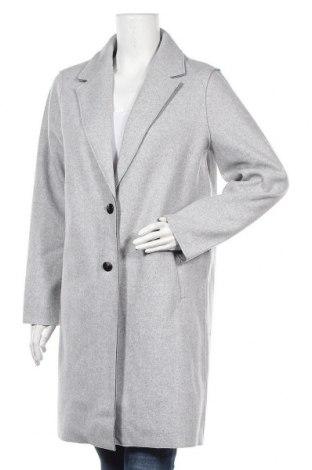 Дамско палто ONLY, Размер L, Цвят Сив, Полиестер, Цена 40,05лв.