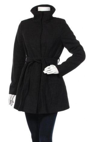 Дамско палто Orsay, Размер M, Цвят Черен, 96% полиестер, 3% вискоза, 1% еластан, Цена 40,95лв.