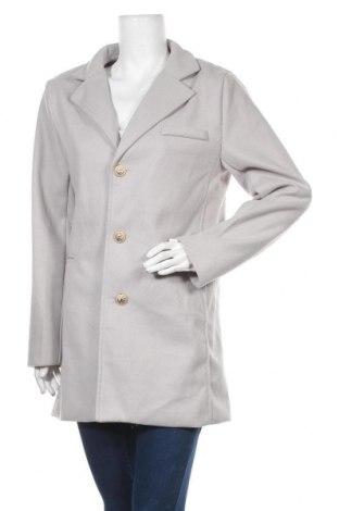Дамско палто Owind, Размер L, Цвят Сив, Цена 33,39лв.