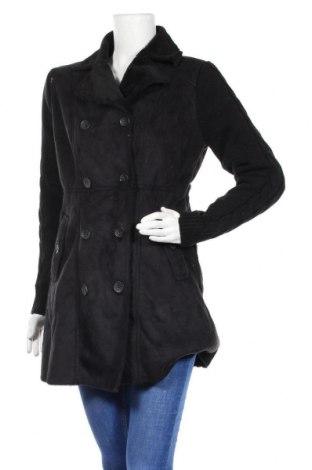 Дамско палто Roosevelt, Размер L, Цвят Черен, Полиестер, акрил, Цена 52,92лв.