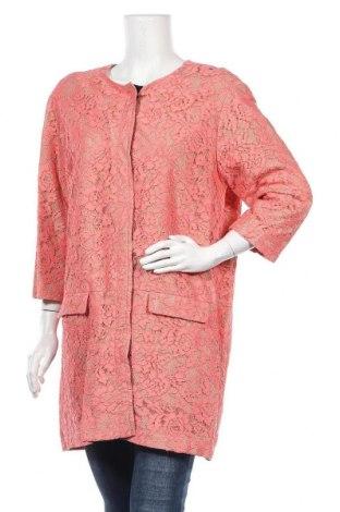 Дамско палто Sinequanone, Размер L, Цвят Розов, 60% полиамид, 40% вискоза, Цена 47,52лв.