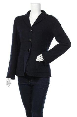 Дамско палто Strenesse Gabriele Strehle, Размер L, Цвят Син, Вълна, Цена 80,33лв.