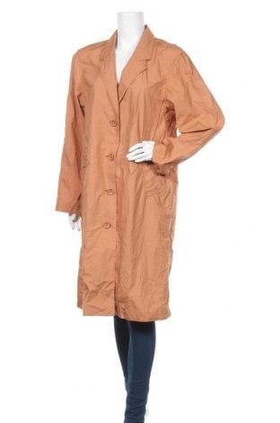 Дамско яке Uniqlo, Размер S, Цвят Оранжев, Памук, Цена 23,63лв.