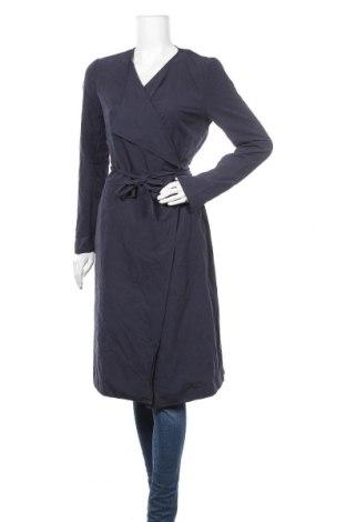 Дамско палто Vila, Размер S, Цвят Син, 95% полиестер, 5% полиамид, Цена 30,14лв.