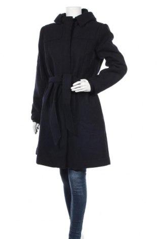 Дамско палто Zapa, Размер L, Цвят Син, 80% вълна, 20% полиамид, Цена 241,15лв.