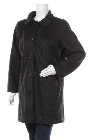 Γυναικείο fleece παλτό., Μέγεθος L, Χρώμα Μαύρο, Τιμή 7,17€