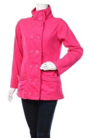 Дамско поларено палто Yessica, Размер M, Цвят Розов, Полиестер, Цена 8,82лв.