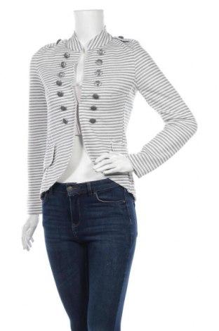 Дамско сако, Размер S, Цвят Бял, 95% полиестер, 5% еластан, Цена 21,00лв.