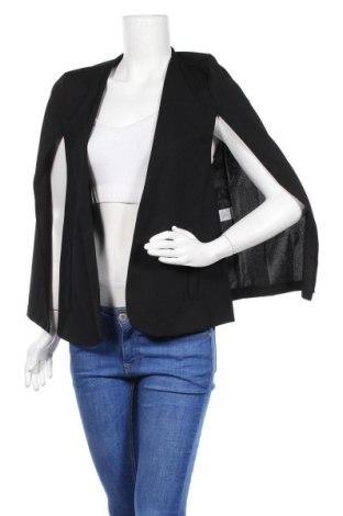 Дамско сако, Размер S, Цвят Черен, 60% полиестер, 35% вискоза, 5% еластан, Цена 21,70лв.