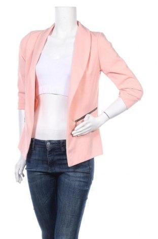 Дамско сако, Размер S, Цвят Розов, 95% полиестер, 5% еластан, Цена 16,80лв.