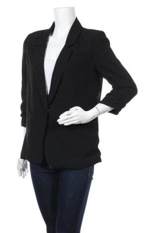 Дамско сако 17 & Co., Размер S, Цвят Черен, 97% полиестер, 3% еластан, Цена 11,34лв.