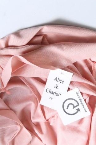 Дамско сако Alice & Charlotte, Размер XS, Цвят Розов, 92% полиестер, 8% еластан, Цена 18,20лв.