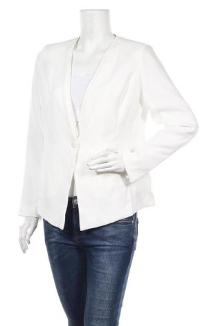Дамско сако Balsamik, Размер M, Цвят Бял, Полиестер, Цена 33,60лв.