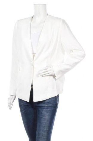 Дамско сако Balsamik, Размер L, Цвят Бял, Полиестер, Цена 33,60лв.