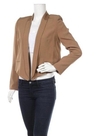 Дамско сако BelAir, Размер M, Цвят Кафяв, 99% вискоза, 1% еластан, Цена 87,60лв.