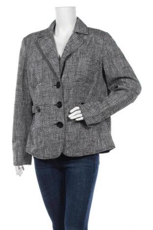 Дамско сако Classic By Michele Boyard, Размер XXL, Цвят Сив, 52% лен, 42% памук, 4% полиестер, 2% вискоза, Цена 19,79лв.