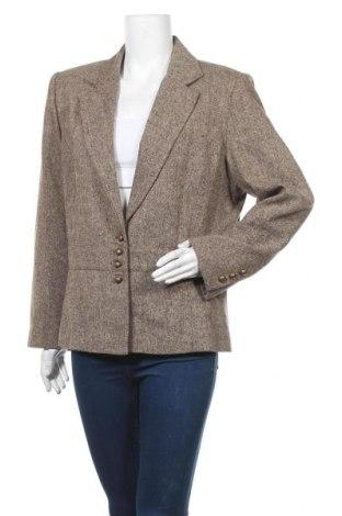 Дамско сако Evita, Размер L, Цвят Кафяв, 75% полиестер, 25% вълна, Цена 6,83лв.