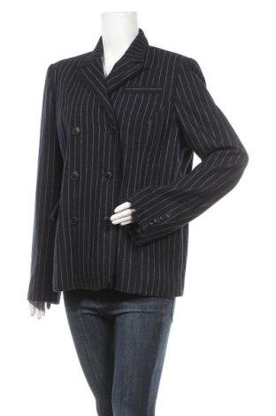 Дамско сако G3000, Размер XL, Цвят Син, 50% полиуретан, 40% вълна, 10% вискоза, Цена 8,14лв.